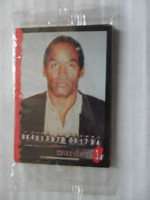O.J. Simpson MURDER ONE 10 Card Sealed Promo Set