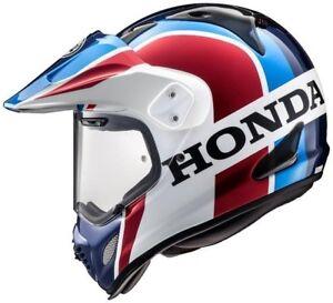 2019 ARAI OFFICIAL #HRC #HONDA TOUR-X 4 DAKAR #ADVENTURE MOTORCYCLE CRASH HELMET