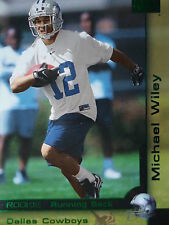 211 Michael Wiley Dallas Cowboys Skybox 2000 Rookie