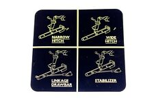 David Brown Hydraulic Linkage Decal, 900, early 850 & 950 Tractors (902835)