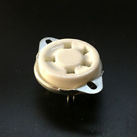 1PC 5Pin Ceramic Vacuum Tube Sockets for 807 Valve 5-21 US Style Base Audio AMP