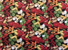 Telas y tejidos multicolores de surtido
