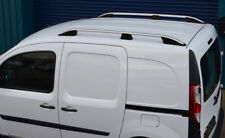 Aluminium Roof Rack Rails Side Bars Set To Fit LWB Renault Kangoo (2008+)