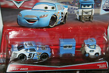 "DISNEY PIXAR CARS ""2-PACK RUDY ""EASY"" OAKS / EASY IDLE PITTY"" NEW IN PACKAGE"