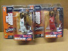 LeBron James, NBA Series 5, McFarlane (2), Variant & Regular, Clean and MIP