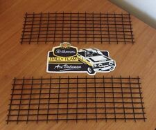 Ford Mk2 Escort Front Panel Grills Brand New Pair GRP4 Rally Race