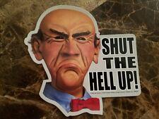 Jeff Dunham Ventriloquist Comedian Walter Shut The Hell Up Magnet Comedy Centrl