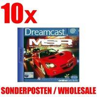 SEGA Dreamcast Spiel - 10 x MSR: Metropolis Street Racer NEU & OVP