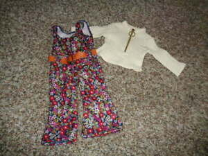 AMERICAN GIRL JULIE'S FLORAL JUMPSUIT OUTFIT