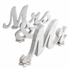Wooden Mr&Mrs Vintage Table Centerpiece Letters Alphabet Word Wedding Decoration