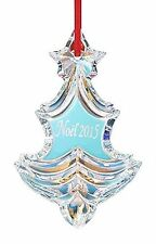 NEW in Box BACCARAT Crystal NOEL 2015 Annual Ornament Iridescent FS
