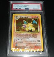 PSA 5 EXCELLENT Charizard 4/102 Base Set HOLO RARE Pokemon Card