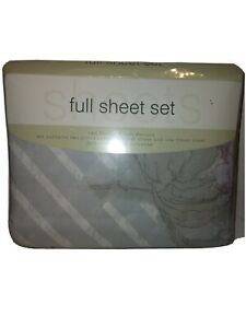 NWT Vintage  Sears Roebuck Sheet Full Double Set 180 Thread Count Made In USA