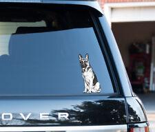 German Shepherd dog owner lover Decal Sticker Car, Van, Laptop, Doors or Walls