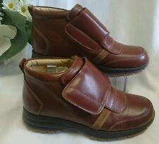 Jungen Kinder Schuhe Herbst MADE IN ITALY Gr. 35 Braun LEDER NEU Klett 156