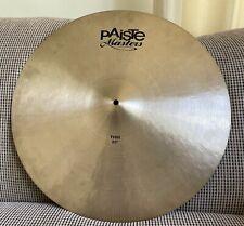 "Paiste Masters 22"" Thin Cymbal"