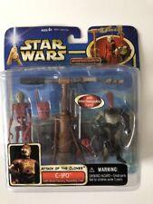 Star Wars attaque des clones-C3-PO avec Droid Factory Assembly Line-En parfait état, dans sa boîte