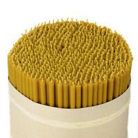 about 50 pcs. Candles 100/% Beeswax length 24cm handmade Greece 36321 370g