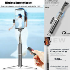 3D 90MM LONG Extendable Monopod with Wireless Remote Selfie Stick Phone Tripod