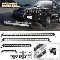 LED Work Roof Lights Bar Driving Work Lamp 5D 12V 24V For Offroad SUV Truck 4X4