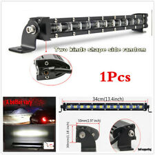 "Car SUV Offraod 13.4"" 120W Flood LED Work Light Bar Roof Driving Fog Lamp White"