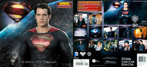 SUPERMAN Movie 2014 CALENDAR - Superman Man of Steel Henry Cavill photo