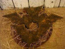 Handmade Bat Ornies Halloween Decor Primitive Set of 3 Bowl Fillers