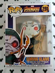 Funko Pop Marvel Avengers Infinity War 290 Corvus Glaive Vinyl Figure