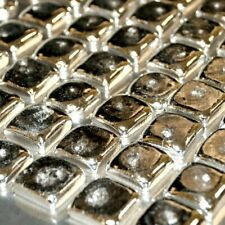 Indium Metal Squares 99.995% Pure 20 Grams element ingots Fast USA Shipping