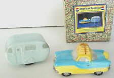 NASH AUTO and RV TRAILER CAMPER S & P Salt Pepper Fitz Floyd Roadside OCI 1994