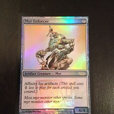 MTG MAGIC CARTE FNM DCI MYR ENFORCER (ENGLISH ARGOUSIN MYR) NM FOIL
