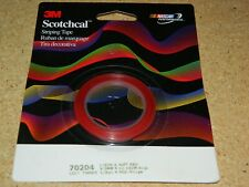 """NEW 3M 70204 SCOTCHCAL RED STRIPING TAPE 1/8"""" X 40' PINSTRIPING"""