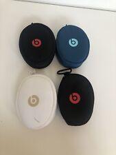 Beats By Dre Solo Auriculares Sobre las Orejas de HD 2 Suave Funda De Transporte Negro X 4