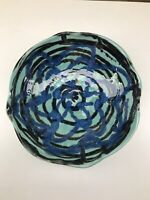 Julie Bergeron Pottery Artist Hand Crafted Bowl Artist Signed