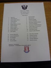 28/02/2014 Stoke City U21 v Fulham U21  (single sheet). Thanks for viewing our i