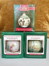 Betsey Clark Home For Christmas (#1,2,6 in series), Hallmark Ornament, 1986-91
