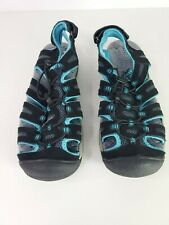 Khombu Auqua Water/River Shoes for walking and hiking Teal/Black Mens Size 12M.