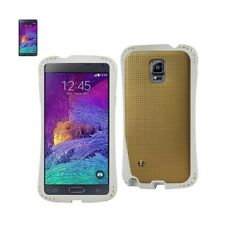 Samsung Galaxy Note 4 Case Dropproof Air Cushion Back Cover w/ Chain H