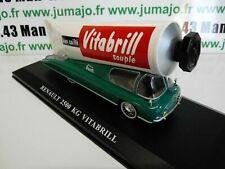 TDF16E voiture Tour De France 1/43 Hachettes RENAULT 2500 Kg VITABRIL