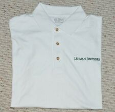 LEHMAN BROTHERS ~ POLO ~ GOLF SPORTSWEAR ( Large / X-Large )  XMAS BOGO OFFER!