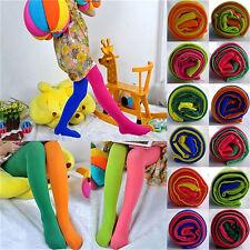 Girls Kids Children Winter Velvet Leggings Solid Candy Color Pants Trouser PanZT