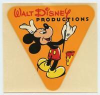1955 US Navy Operation Deep Freeze Walt Disney Productions FILM DECAL