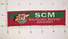 SCM Patch - Deutscher Meister 2000/2001 - Magdeburg - Handball - Germany