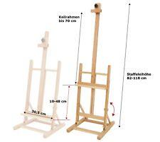 XXL Profi- TISCHSTAFFELEI aus BUCHENHOLZ FSC-Holz, Keilrahmen -70cm Höhe + 38mm