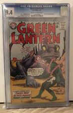 GREEN LANTERN #34 - CGC 9.4 - HECTOR HAMMOND APPEARANCE - OFF WHITE/ WHITE PAGES