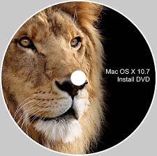 MAC OS X 10.7 Lion Clean installa o aggiorna su DVD avviabile