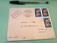 Republic Gabonaise  to France Airmail stamps Cover Ref 51439
