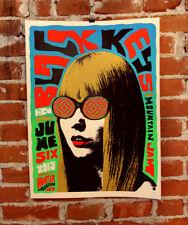 🔥 Rare The Black Keys 2015 Mountain Jam Festival Orig Print Poster Signed Ap