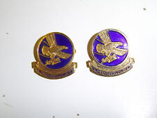 0260p WW2 US Army Airborne Parachute PIR 1st Troop Carrier DI pair A1B16