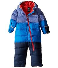 $150 TNF The North Face Baby Boy's Footed 550 Down Snowsuit Bunting Jacket 0-3M